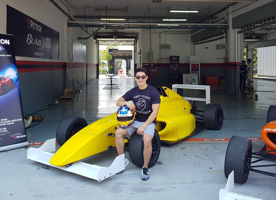 Tyson Sy joins Formula 4 SEA collective test for PartsPro Racing