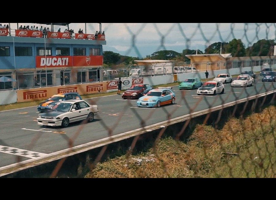 What happened in Rd 6 of the 2017 FlatOut Race Series told in 345 seconds