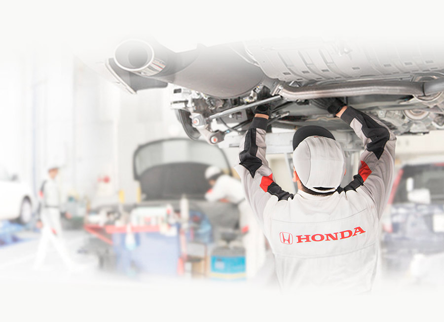 How much does it cost to have a Honda serviced at the dealer?
