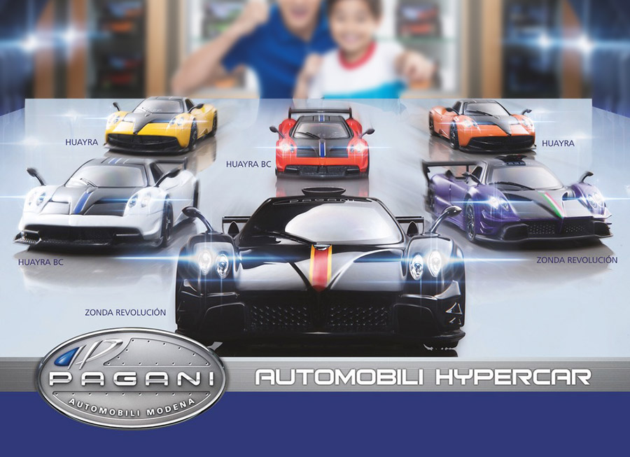 Petron Corporation delivers; Brings in Pagani Automobili… in 1:32 scale