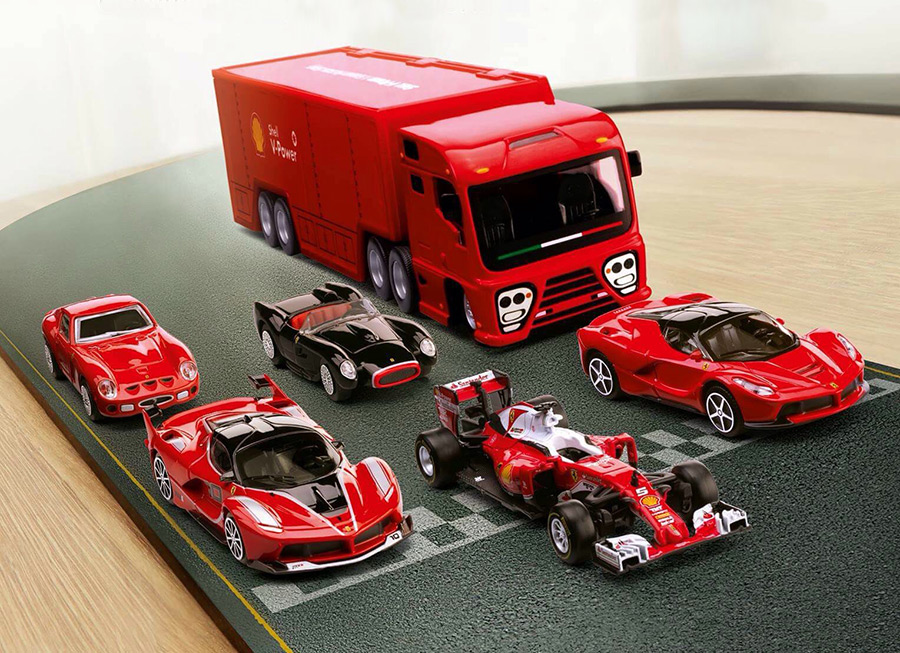 Shell wants you to start on your dream Ferrari toy collection