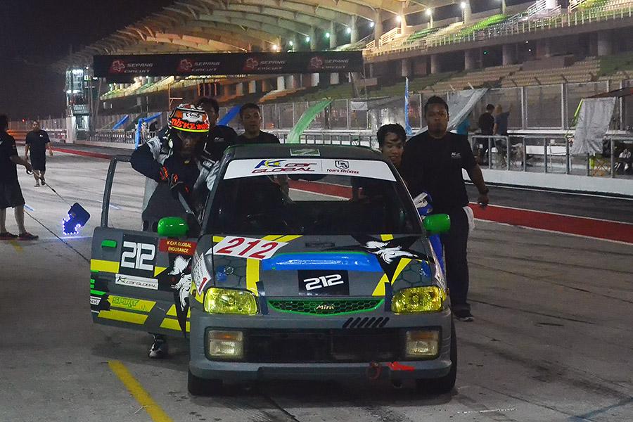 K car Global Sepang 24H Endurance