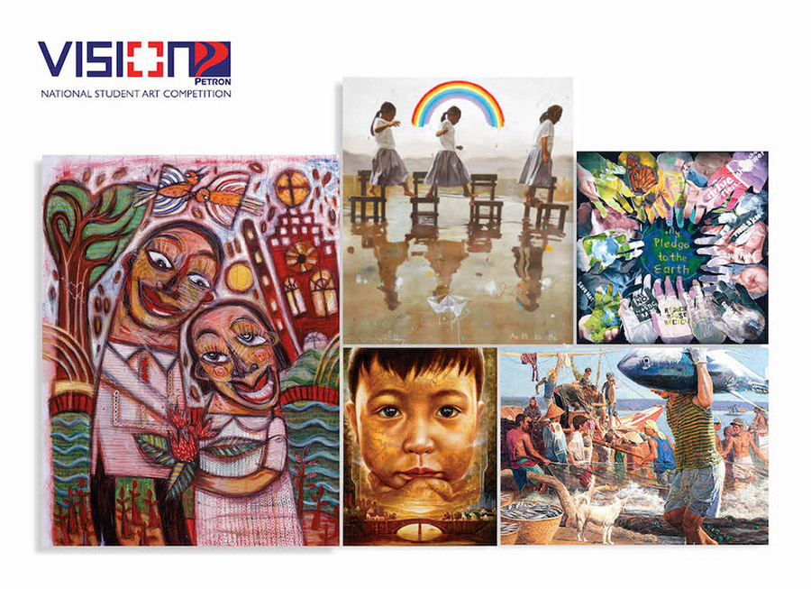Vision Petron exhibits best works from student art competition at Bencab Museum