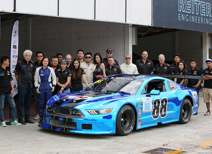Ford Mustang Ta2 Trans Am Race Car For Sale: Don Pastor Joins Trans-Am TA2 Test At Bira Circuit In Thailand
