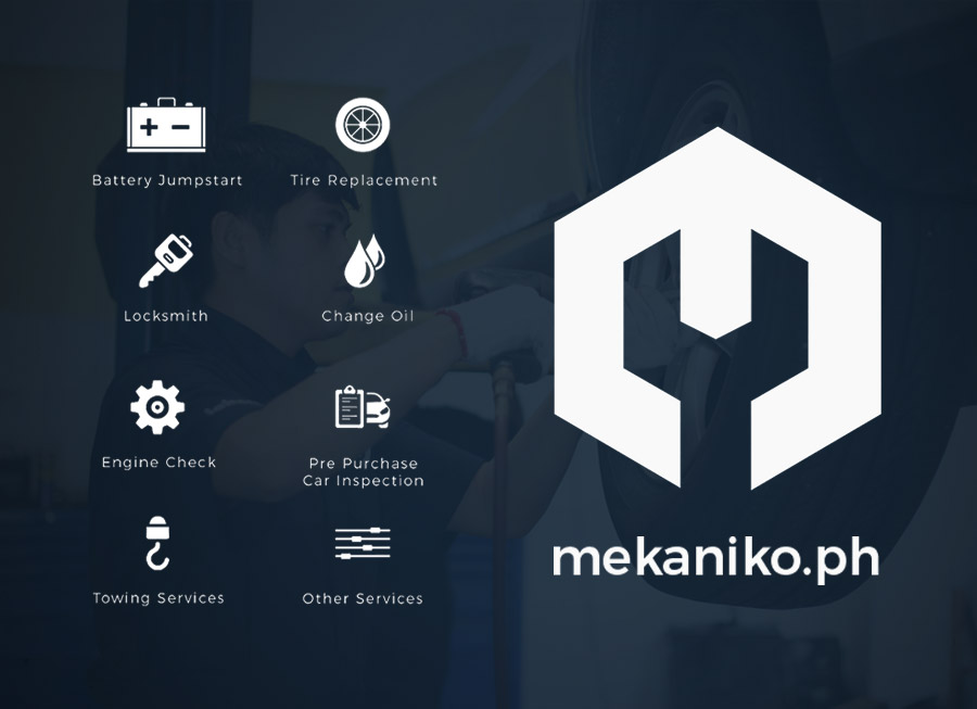 Mekaniko.ph is a new app that offers On-Demand Car Service and Maintenance