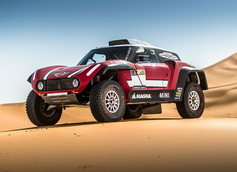 X-raid built a 2WD MINI John Cooper Works Buggy for Dakar