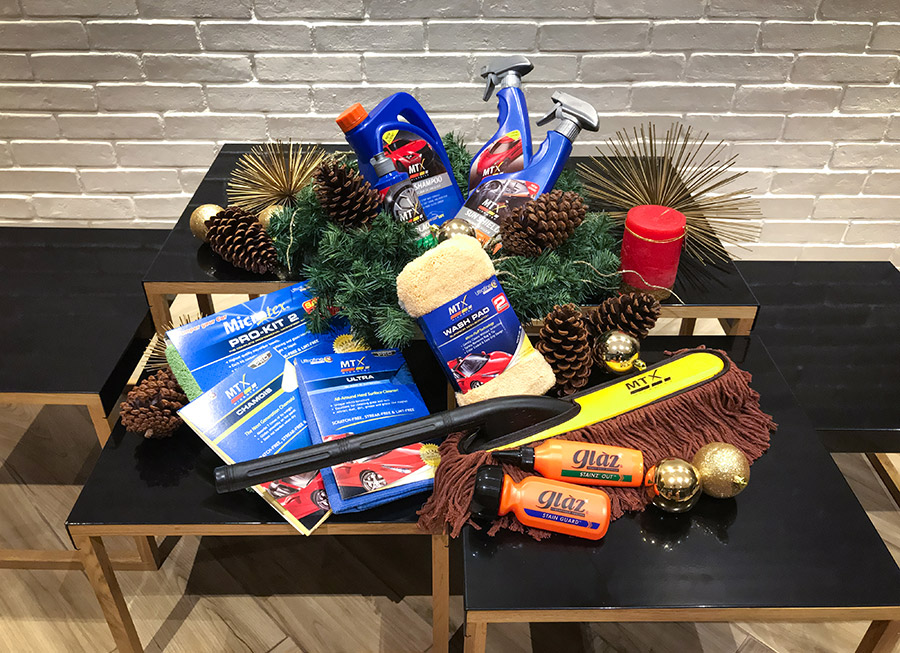 Microtex lists 5 Best Car Care Gifts this holiday for under P600