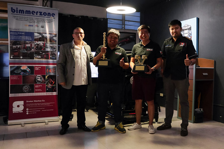 Luis Moreno bags top prize in Pro Simulation Karera competition