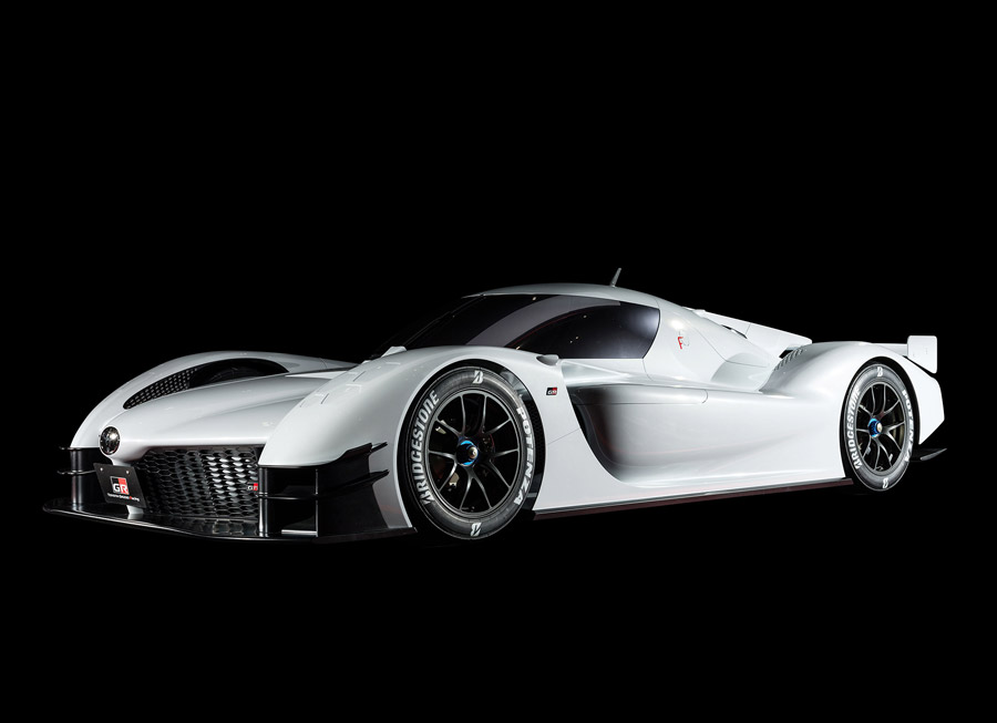 Toyota GAZOO Racing built a 'super sports car' out of LMP1 spare parts
