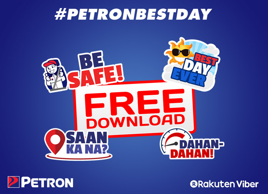 'Petron Best Day' stickers now free to download on Viber
