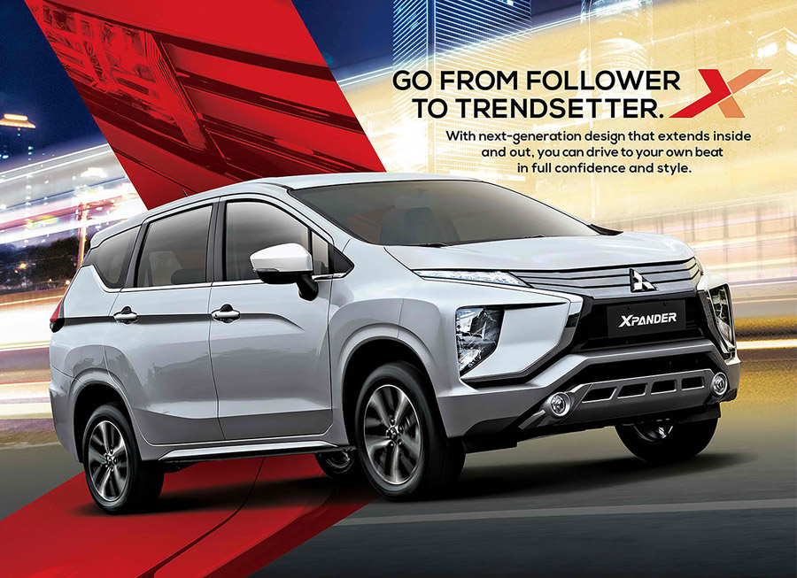 You can now pre-order a Mitsubishi Xpander; Prices start at P900,000