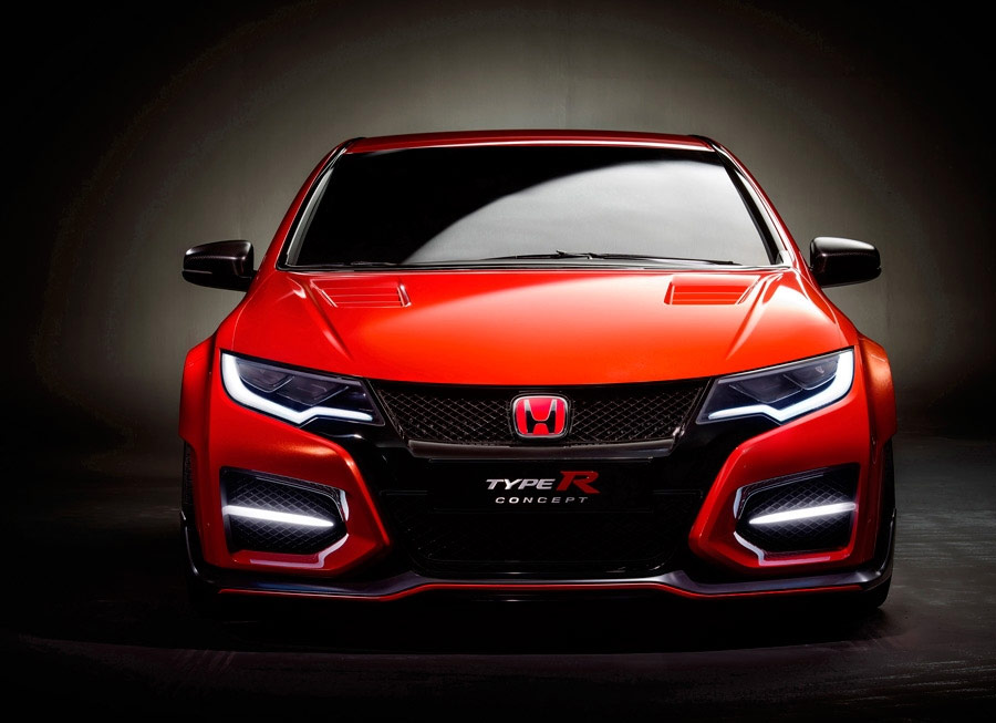 Honda's Civic Type R Concept looks ready to hit the track