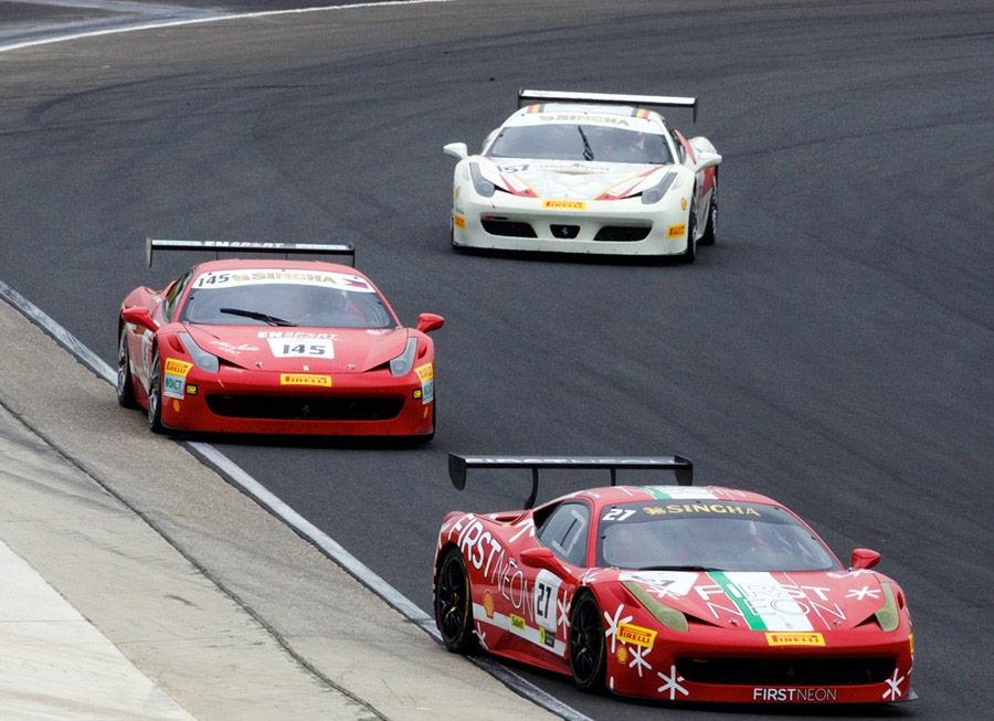Floirendo takes podium in Sydney at 2014 Ferrari Challenge Asia Pacific