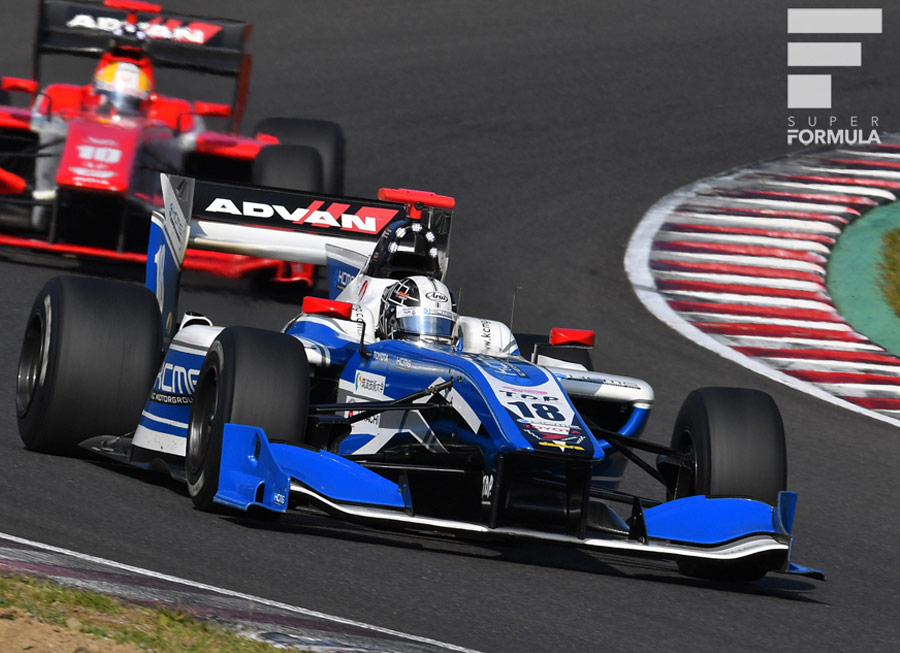 Kamui Kobayashi has signed for another year with KCMG in Super Formula