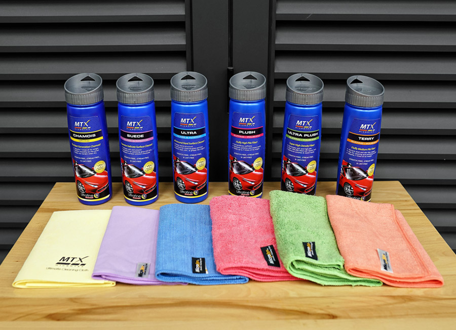 Microtex explains which Microfiber Cloth is best for car detailing