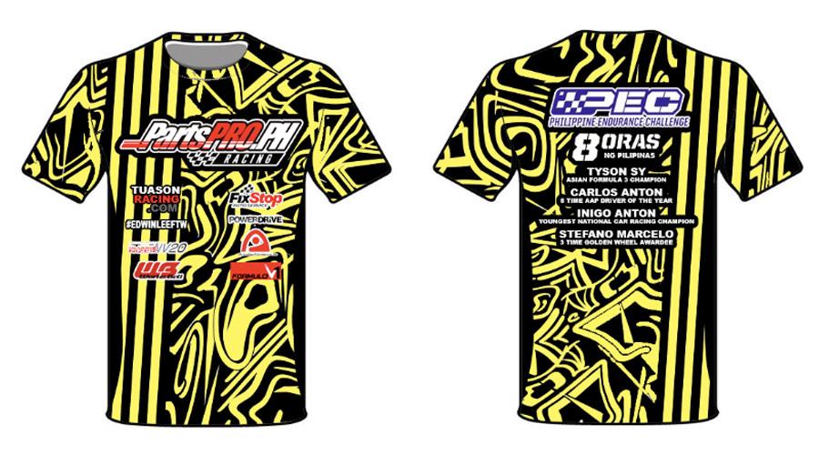 PartsPro Racing Commemorative Shirt
