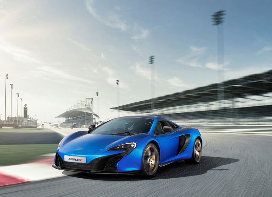 The 650S is McLaren's newest 650 HP gift to the world