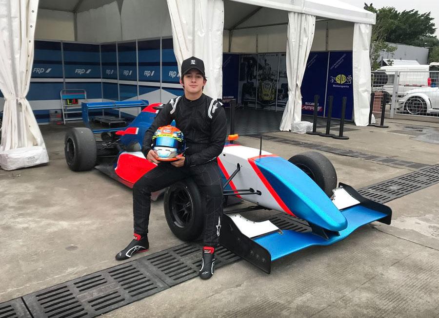 Daniel Miranda to make his Asian Formula Renault debut in Zhuhai