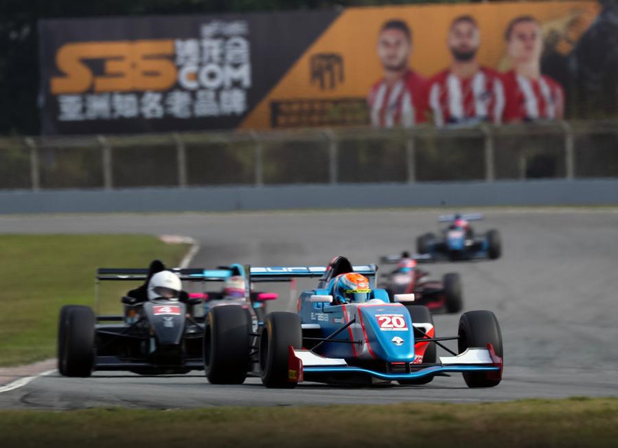 Daniel Miranda pleased with top 10 finish in Asian Formula Renault