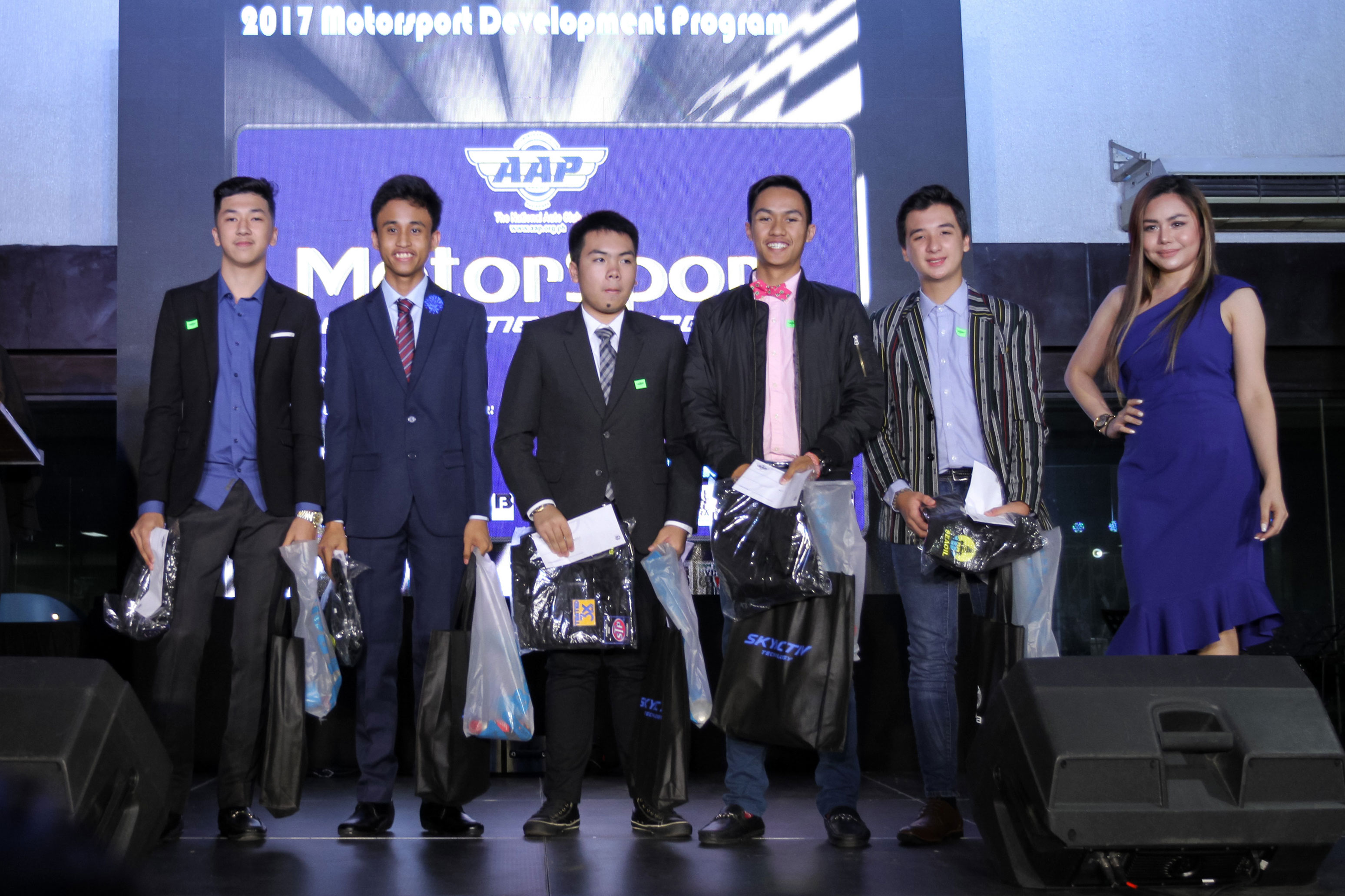 Here are the 5 finalists of the AAP Motorsport Development Program 2018