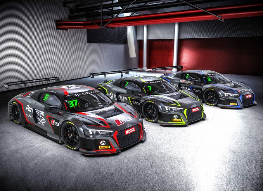 Absolute Racing going after Blancpain GT Asia title in 3 Audi R8 LMS GT3s