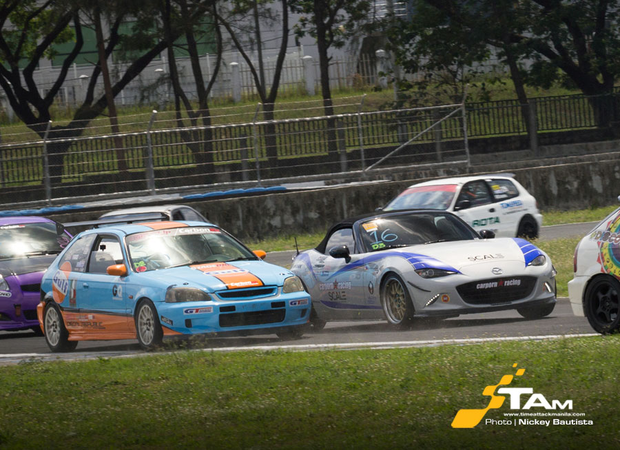 Who were the fastest drivers in Rd 2 of the Petron FlatOut Race Series?