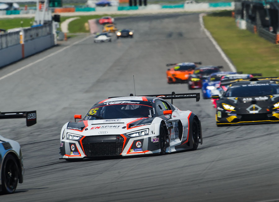 Vincent Floirendo lands podium on GT Asia Series opener at Sepang