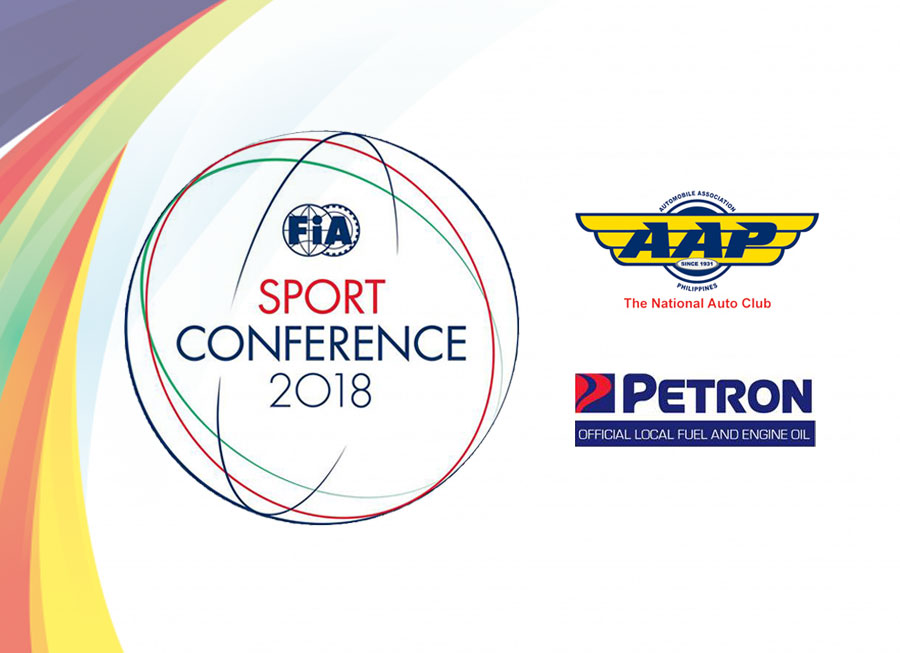 Petron named as official fuel and oil sponsor of FIA Sport Conference 2018