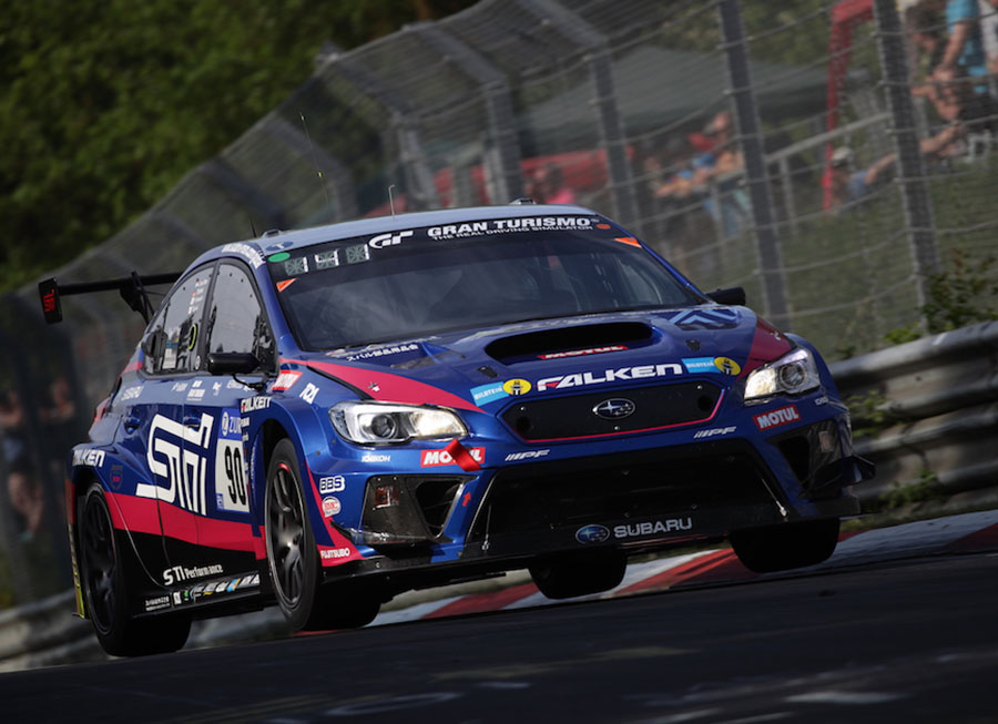 Subaru WRX STI barely survives Nürburgring 24 Hrs to take 5th SP3T Class win