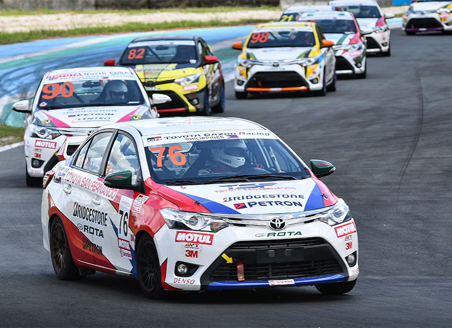 Toyota San Fernando show promising results at Vios Cup 2018 season opener