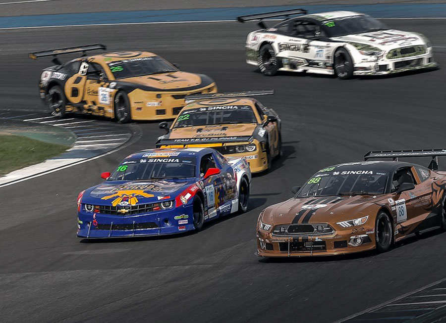 Don Pastor wrestles top 4 finish from TA2 Asia weekend at Buriram