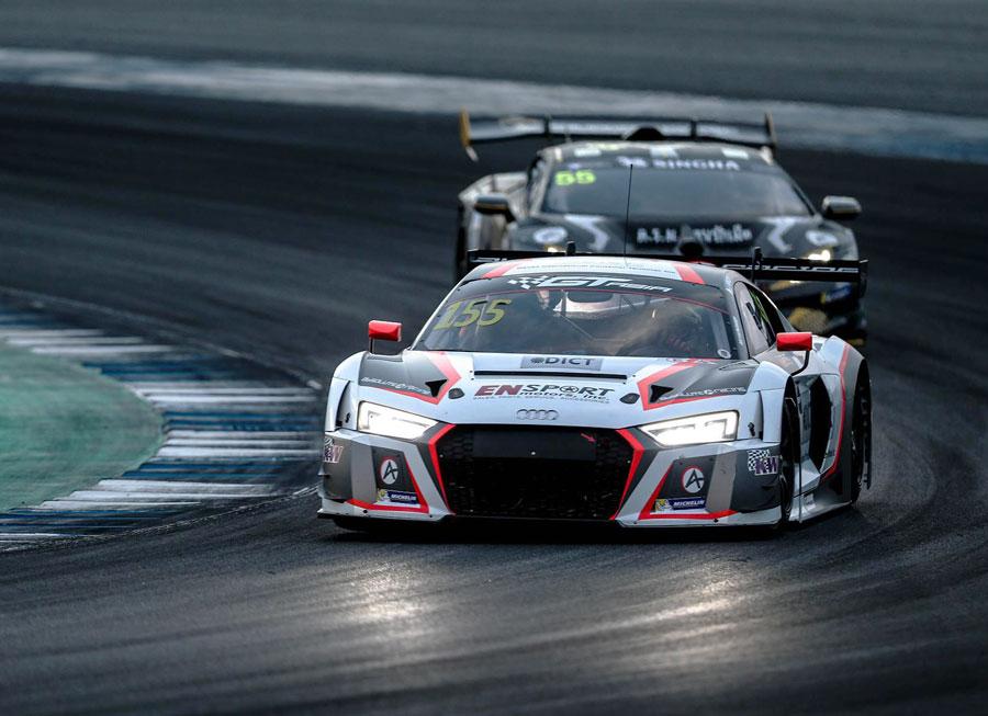 Vincent Floirendo's comeback drive nets top 4 finish in GT Asia Buriram