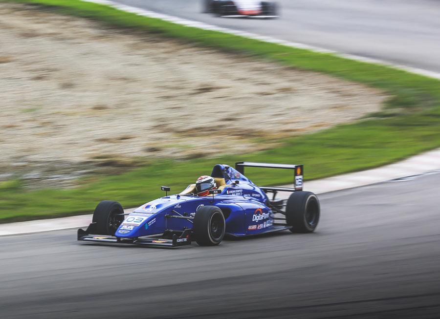 Jordan Dempsey score hat-trick in F4 Chinese weekend at Chengdu with Pinnacle Motorsport