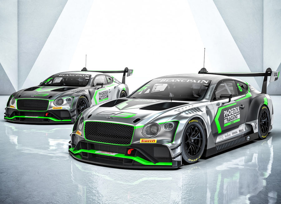 Phoenix Racing Asia to get new Bentley Continental GT3 in time for Shanghai