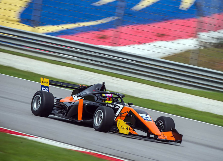 Point-scoring weekend for Pinnacle Motorsport in F3 Asian Championship at Sepang