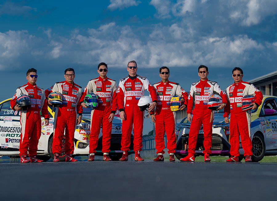 Toyota Team Cebu all fired up when Vios Cup battle resumes at Filinvest, Alabang