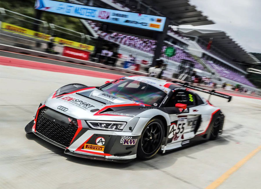 Vincent Floirendo maintains momentum in GT Asia Series with 4th at Ningbo