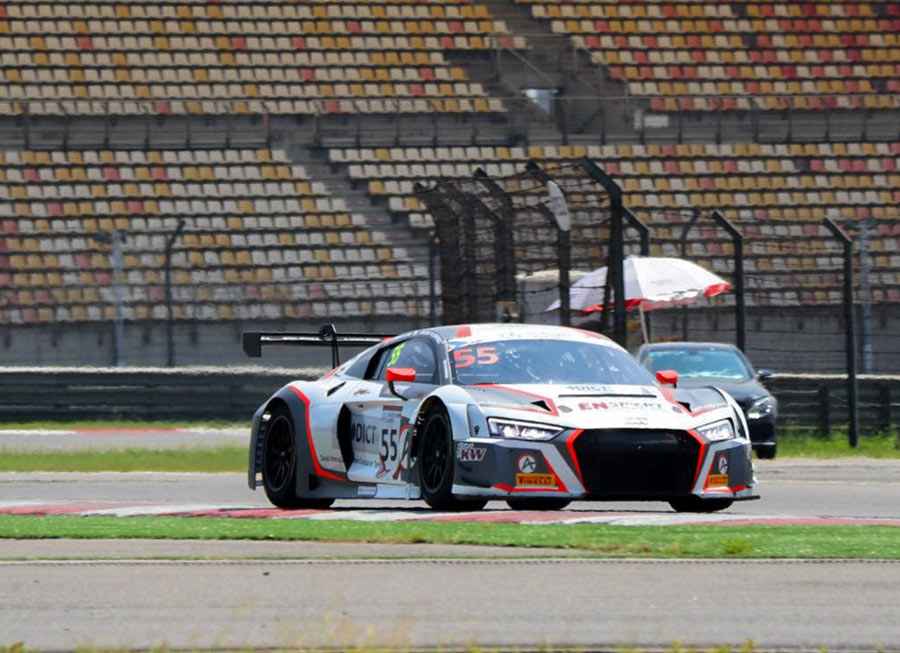 Floirendo wraps up rewarding GT Asia season with 3rd place at Shanghai