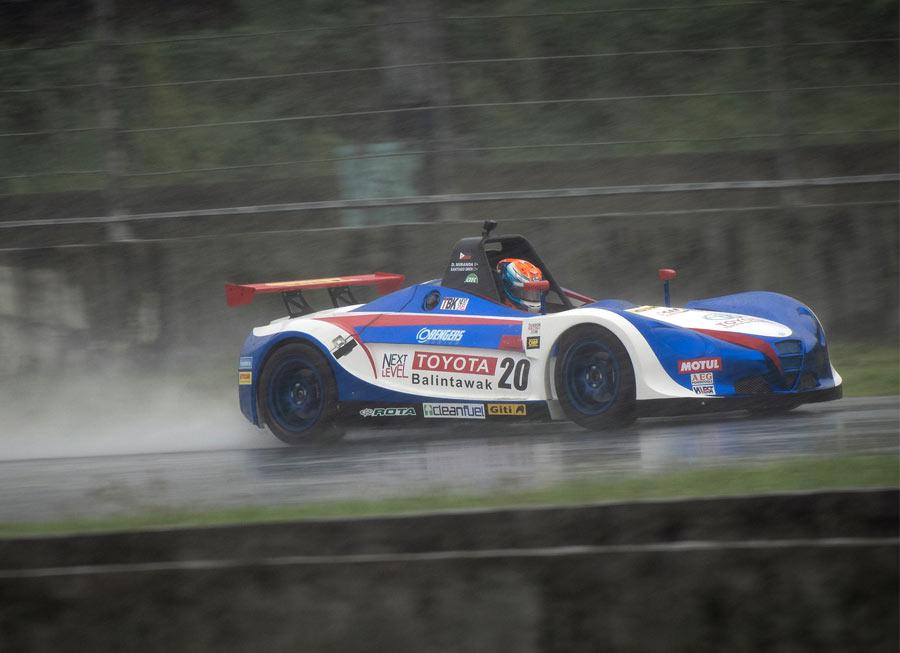 Toyota Balintawak-Obengers, Miranda takes podium on rain-hit Formula V1 debut