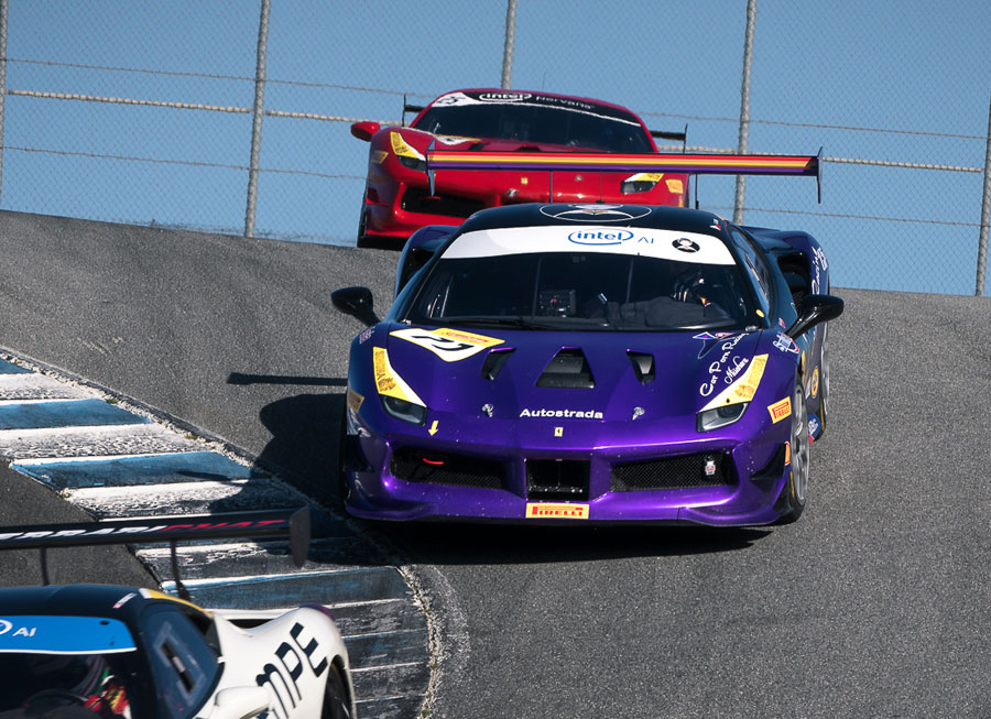 Angie King gets first Ferrari Challenge North America outing at Laguna Seca