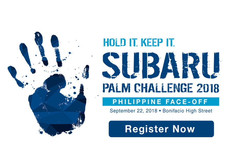 Win a trip to SG and a car by doing nothing at the Subaru Palm Challenge