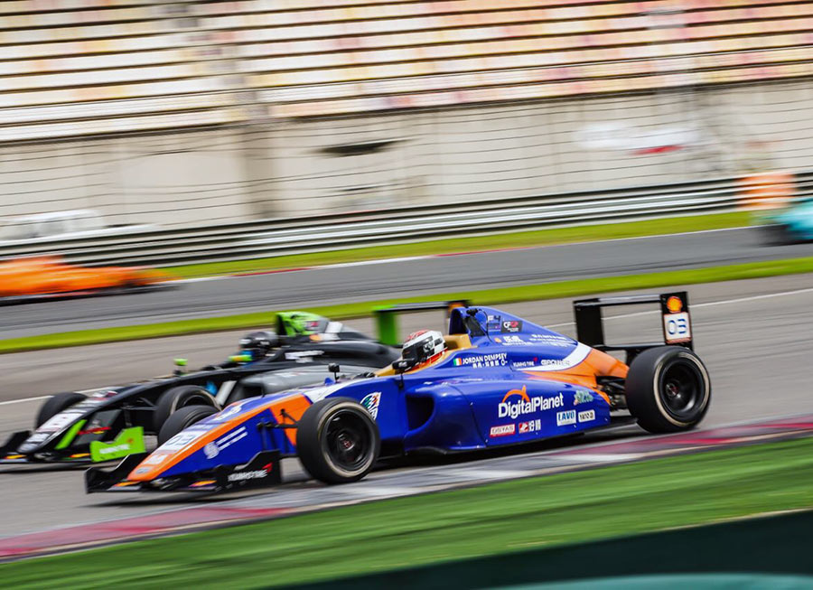 Dempsey take F4 Chinese championship lead at Shanghai with Pinnacle Motorsport