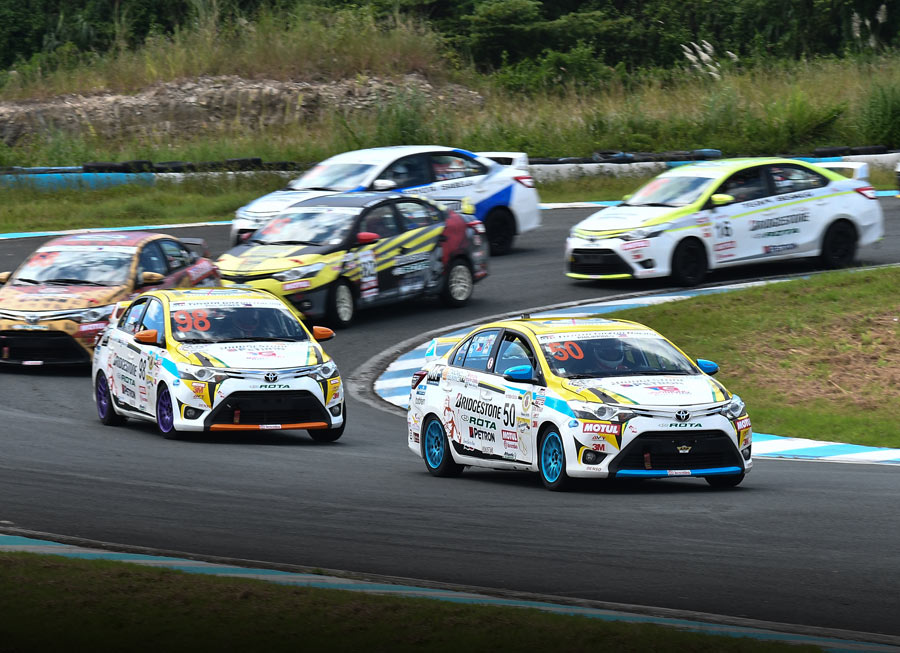 Toyota Team Cebu is the overall Vios Cup team champion for 2018