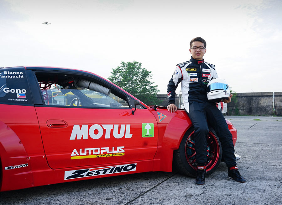 Luis Gono to compete in FIA Intercontinental Drifting Cup in Tokyo