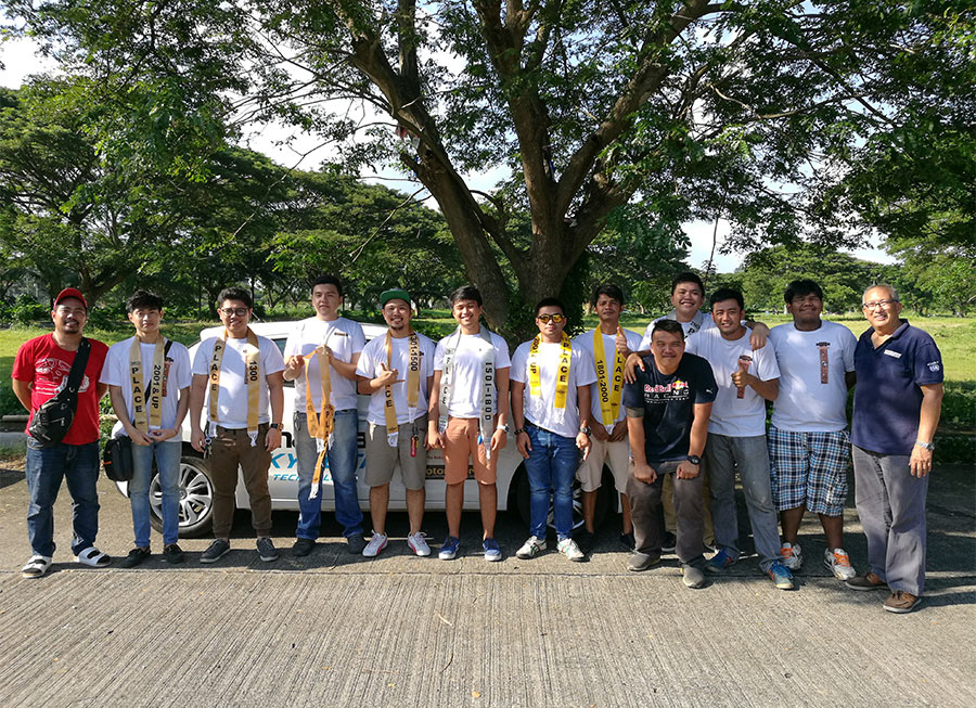 These are the 3 finalists who topped the MSDP's Gymkhana Series in Davao