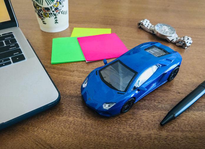 Petron Lamborghini Toy