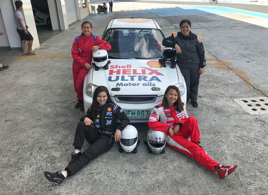 Very first all-female racing team is entering the 8 Oras ng Pilipinas