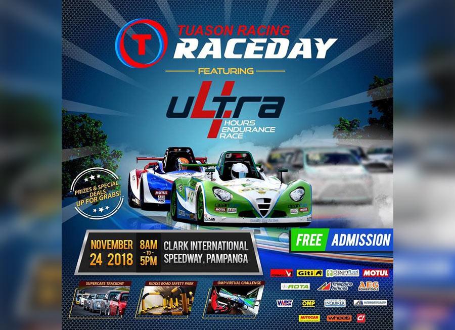 Ultra 4 Hours Endurance Race headlines Tuason Racing Raceday
