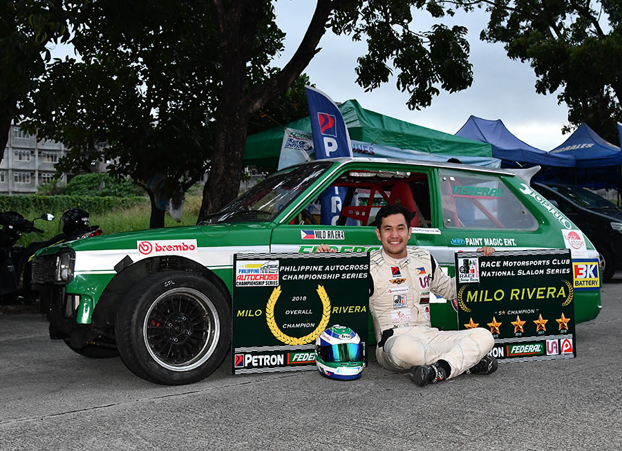 Milo Rivera claims second title in 2018 with Philippine Autocross crown
