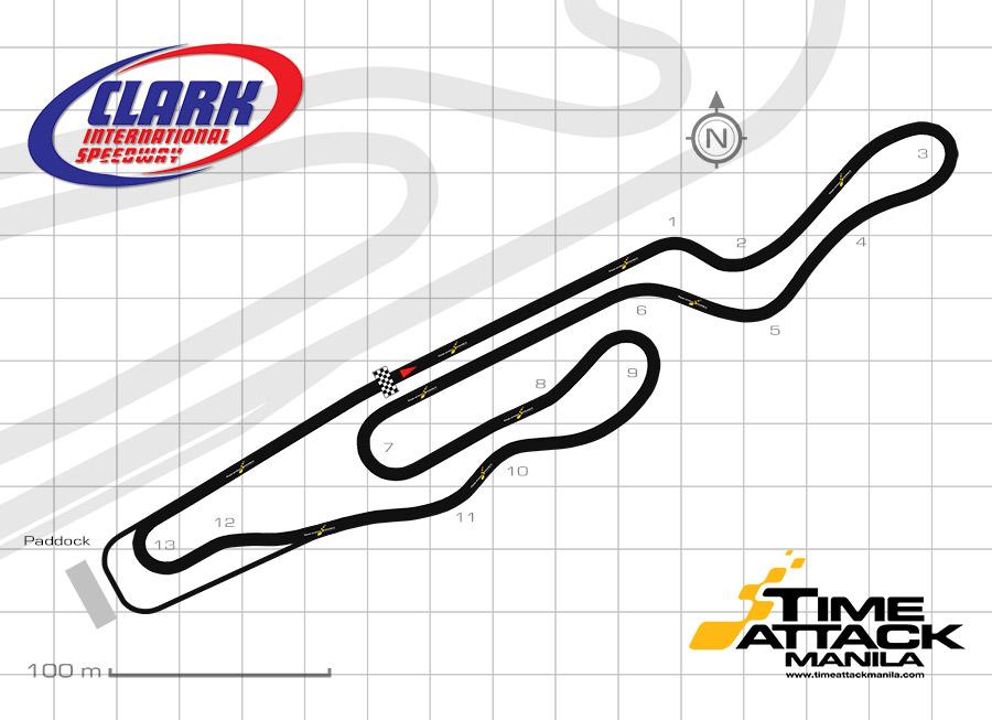 Clark International Speedway Kart Track